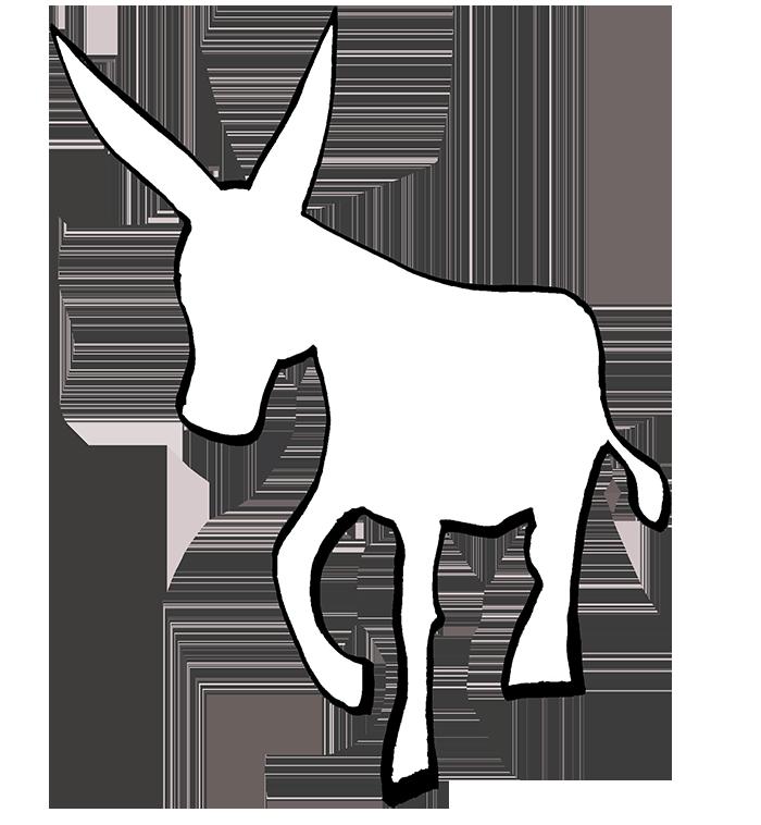 Logo microeditorial burro lector